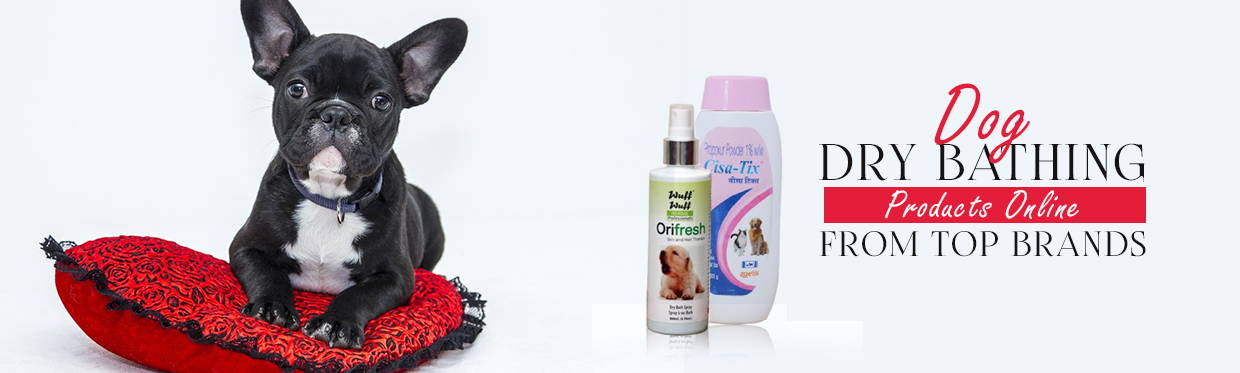 Buy Dog Dry Bathing Products Online From Top Brands